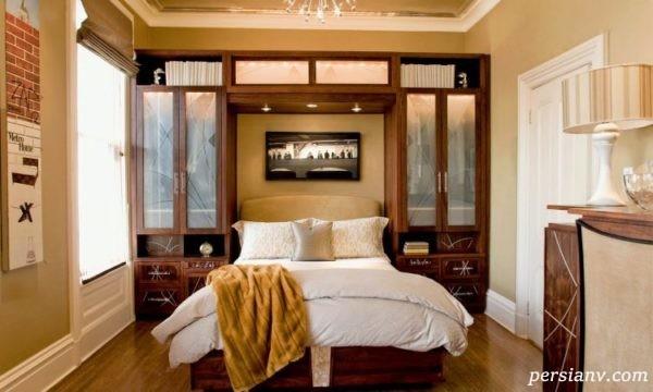 دکوراسیون آینه اتاق خواب