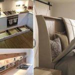 ساخت جاهای مخفی در خانه برای پنهان کردن وسایل اضافه