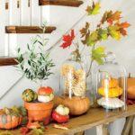 تزیین منزل برای پاییز با ایده های جذاب و دلنشین