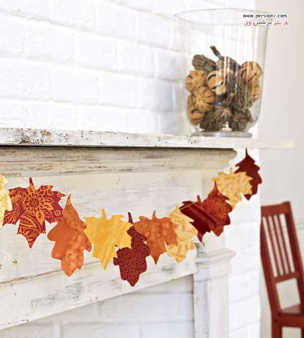 تزیین منزل برای پاییز