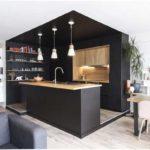 آشپزخانه مشکی با ایده های بسیار مدرن و جذاب