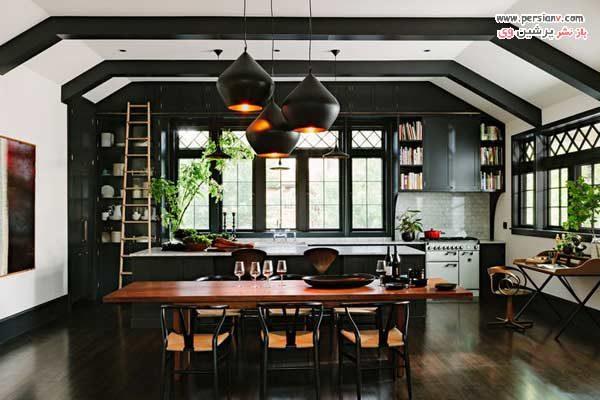 آشپزخانه مشکی