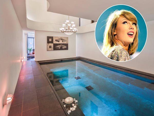 عکس خانه های تیلور سویفت خواننده معروف را ببینید