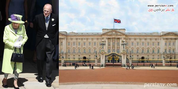 محل زندگی خانواده سلطنتی انگلستان