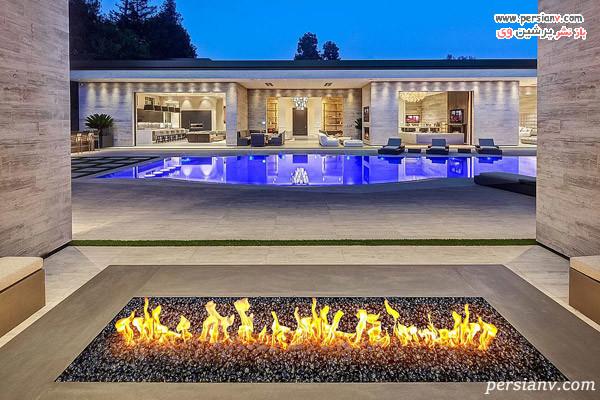 گودال آتش و نمای کلی خانه کایلی