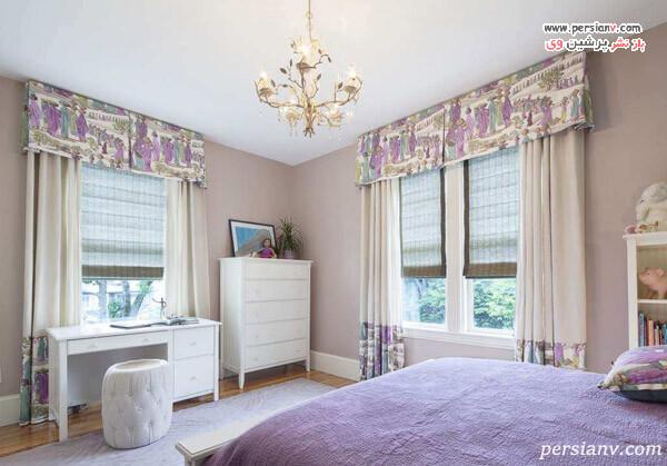 انتخاب پرده زیبا برای اتاق