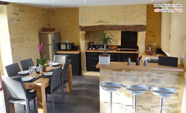 طراحی خاص یک آشپزخانه