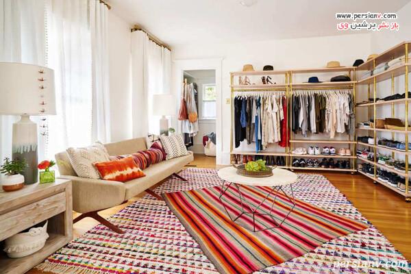قالیچه های رنگارنگ