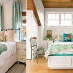 دیزاین اتاق خواب کوچک با چند ایده زیبا و کاربردی
