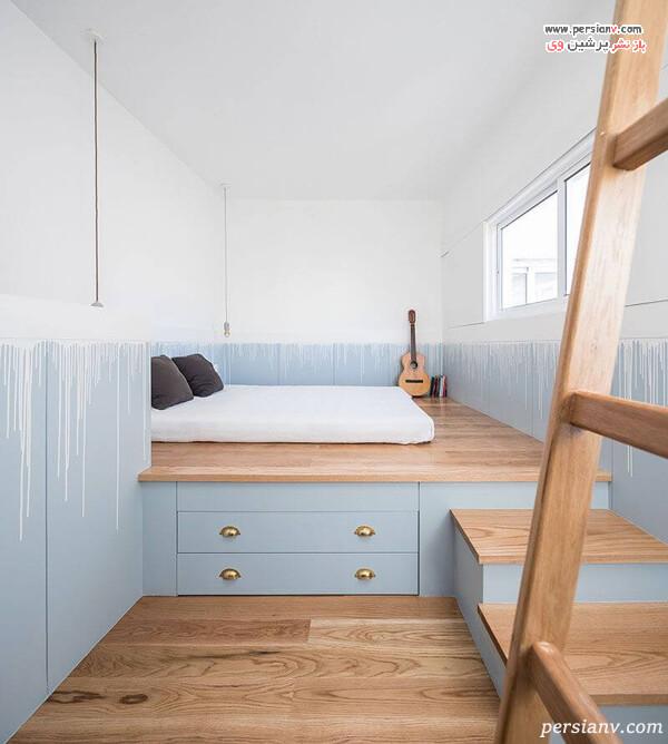 افزودن سکو برای زیر تخت