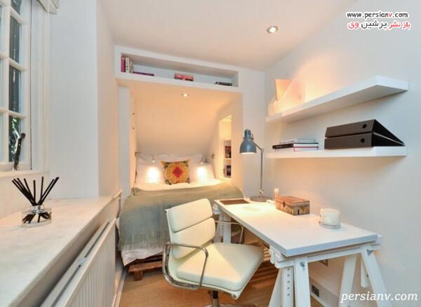 مشخص کردن فضاهای مختلف در اتاق