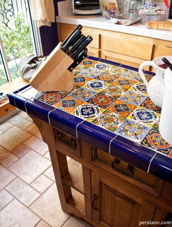 طراحی کانتر آشپزخانه