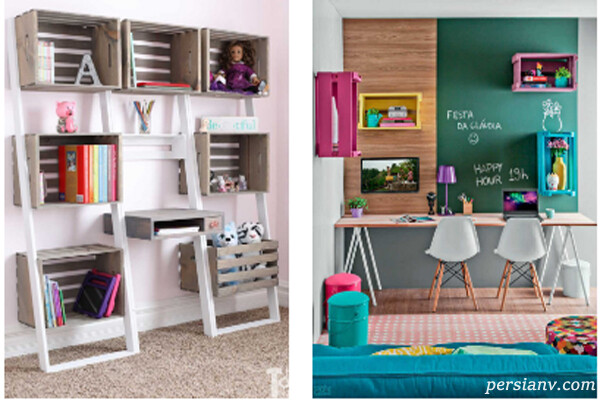 دکوراسیون اتاق برای درس خواندن بچه ها در خانه