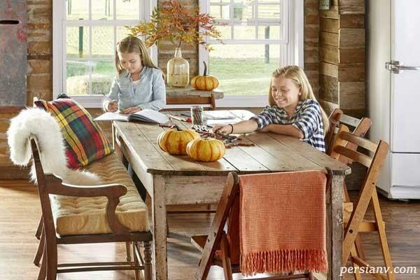 دکور پاییزی منزل با روش های ساده و بی دردسر