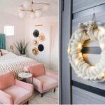 دکوراسیون منزل با بافتنی های چانکی و بسیار درشت