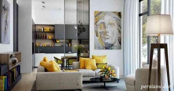 طراحی دکوراسیون خانه با ست کردن رنگ وسایل