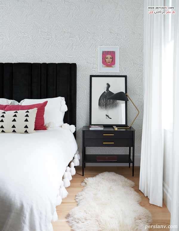 تزیین پاتختی اتاق خواب