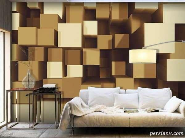کاغذ دیواری سه بعدی چیست