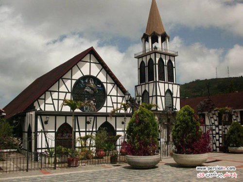 روستای بسیار خوش منظره و زیبا در دل جنگل های ونزوئلا +عکس
