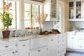 دکوراسیون آشپزخانه هایی که کابینت سفید رنگ دارند+ عکس