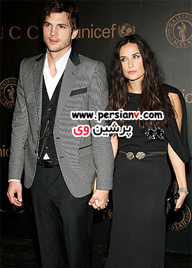 آشتون کاتچر با همسر سابقش در رابطه است!!+ عکس