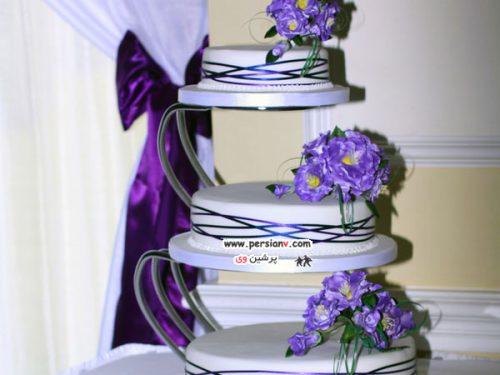 ایده های جدید و زیبا برای کیک های عروسی !+تصاویر