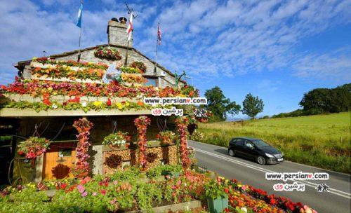 خانه باغچه ای یک زوج خوش ذوق + عکس