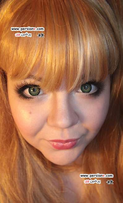 آرایش چشم عروسکی + راهنمای تصویری