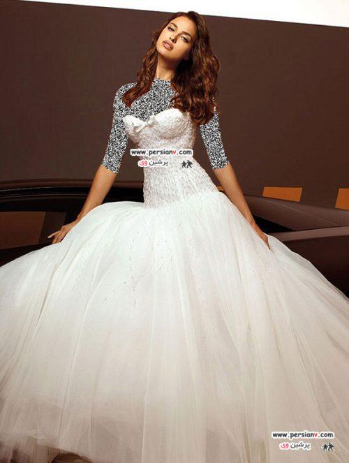 نامزد احتمالی کریستیانو رونالدو در مدل لباس عروس + عکس