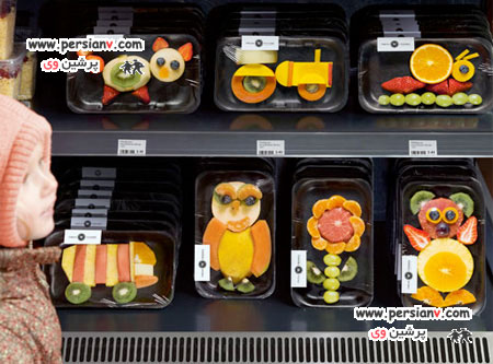 بسته بندی میوه به جالب ترین شکلی که تاکنون دیده اید +عکس
