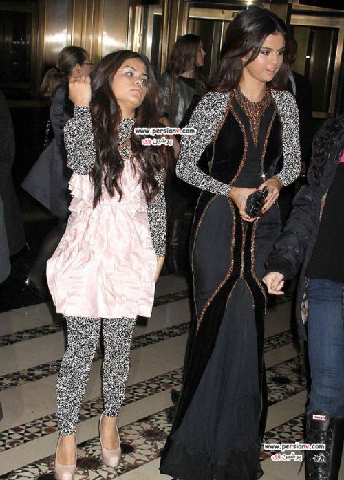 سلنا گومز و خواهرش به همراه کتی پری در مراسم یونیسف + عکس
