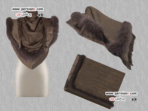 جدیدترین شال و شال گردن های زمستانی مارک Gucci +عکس