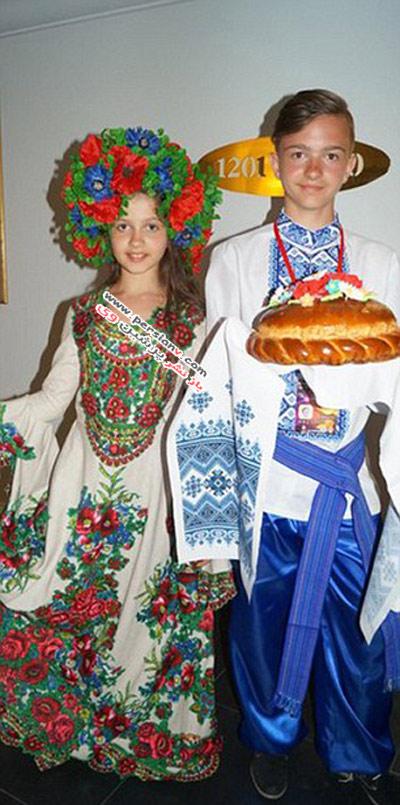 تاج ملکه زیبایی کوچک برسر این دختر اوکراینی +عکس