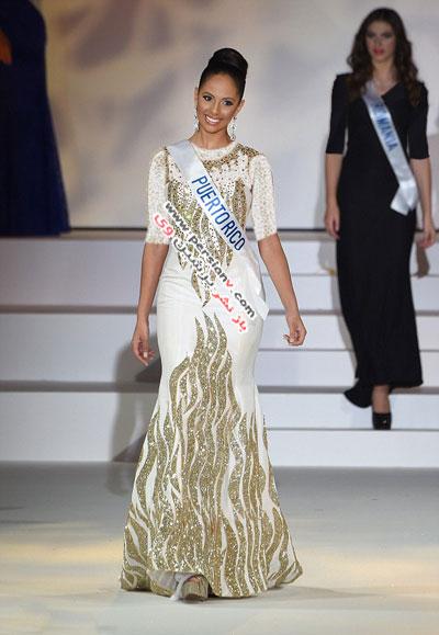 تاج ملکه زیبایی بر سر دختر شایسته بین المللی ۲۰۱۴ +عکس