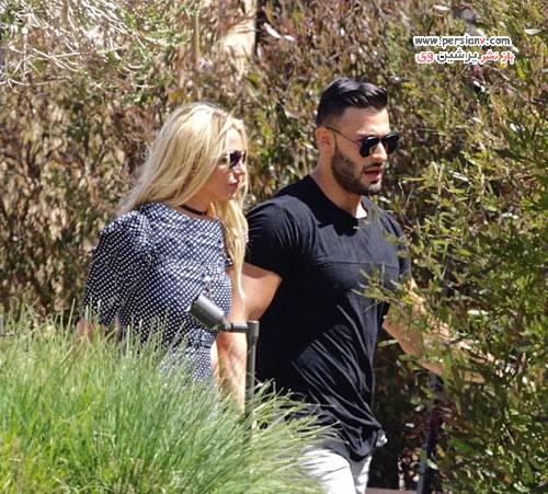 بریتنی اسپیرز و نامزد ایرانی اش