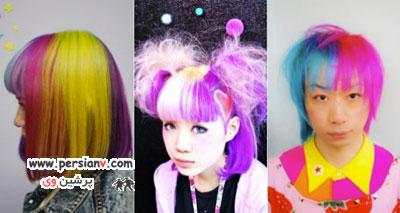 مدل موی عجیب مد شده در ژاپن +عکس