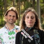 زوجی که ادعا می کنند حضرت عیسی و مریم مجدلیه هستند! +عکس