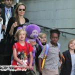 آنجلینا جولی، برد پیت و فرزندانشان در استرالیا +عکس