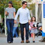 تیپ دختر تام کروز و مادرش در خیابان های نیویورک سیتی +عکس