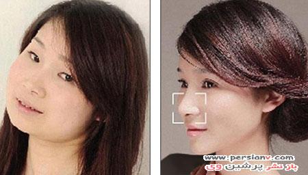 چهره غیرقابل شناسایی زنان چینی پس از جراحی پلاستیک! +عکس قبل و بعد