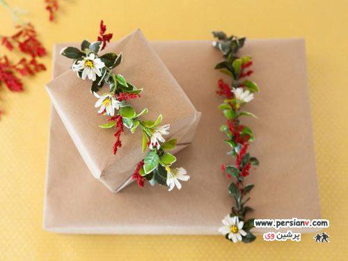 ایده های ابتکاری و زیبا برای کادو کردن هدیه +عکس