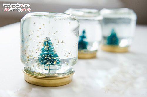 روش ساخت گوی برفی زیبا و بانمک در منزل +عکس