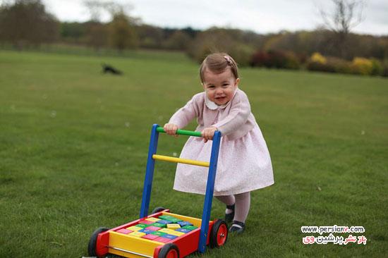 دختر کیت میدلتون در تولد دو سالگی