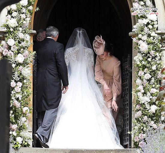 مراسم عروسی پیپا میدلتون