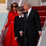 نقل مکان همسر و پسر ترامپ به کاخ سفید و ملحق شدن والدین ملانیا به آنها