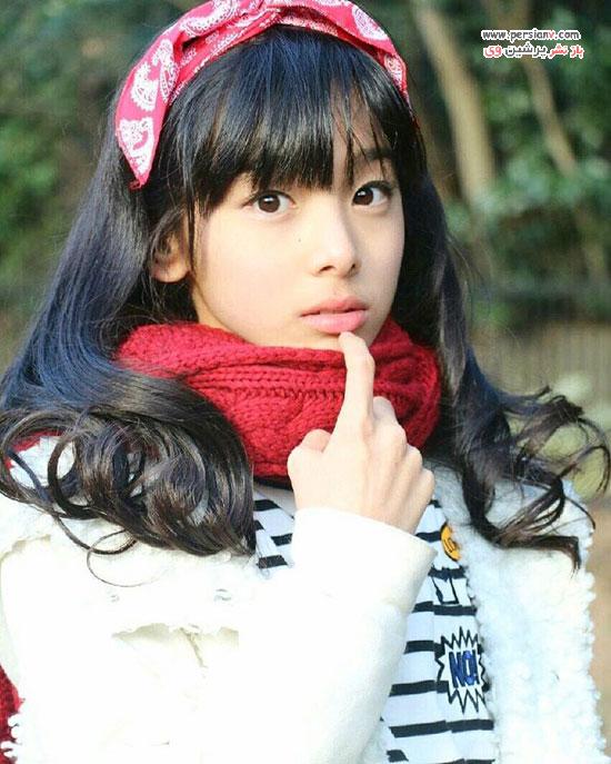 مدل زیباروی ژاپنی