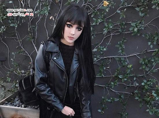 دختری شبیه عروسک