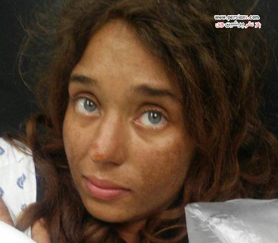 نجات دختری از جنگل