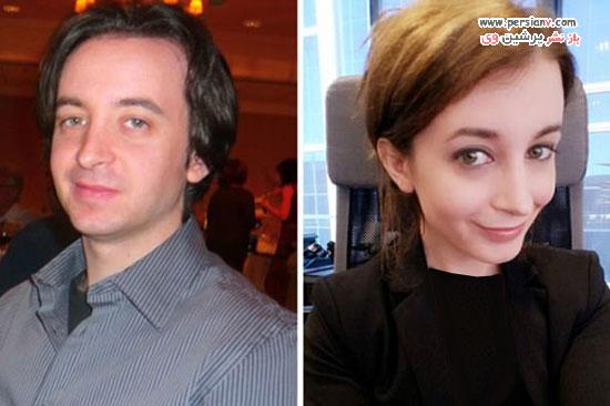عکس قبل و بعد تغییر جنسیت