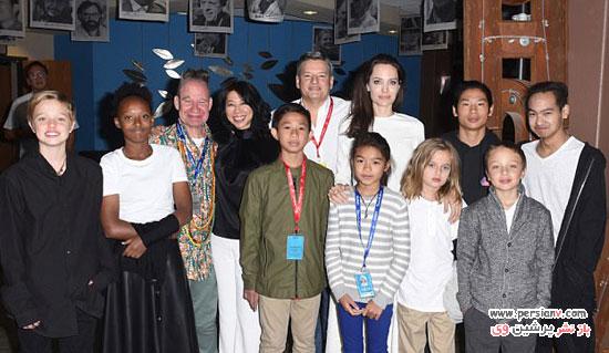 آنجلینا جولی در جشنواره فیلم تلوراید